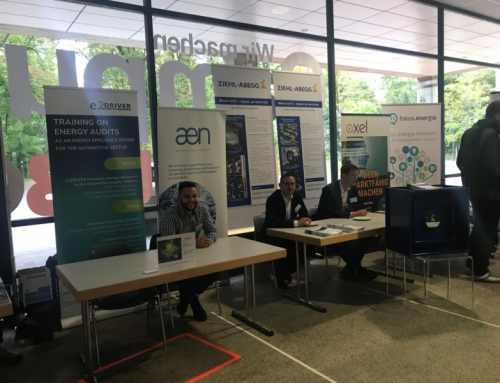Representing E2DRIVER at events related to energy efficiency in Germany